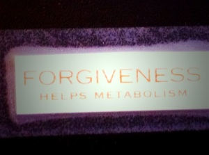 Forgiveness Helps Metabolism